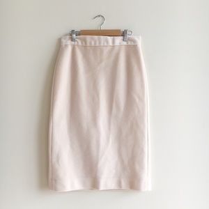 Dresses & Skirts - Furry Pastel Pink Pencil Skirt